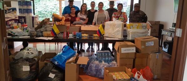 Embajada de Colombia en Guatemala brinda apoyo humanitario a damnificados por la reciente erupción de Volcán de Fuego